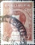 Stamps Argentina -  Intercambio 0,20 usd 5 centavos 1935