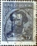 Stamps Argentina -  Intercambio 2,00 usd 15 centavos 1942