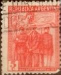 Sellos de America - Argentina -  Intercambio 0,25 usd 5 centavos 1930
