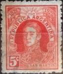 Sellos del Mundo : America : Argentina : Intercambio 0,25 usd 5 centavos 1926