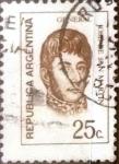 Sellos de America - Argentina -  Intercambio 0,20 usd 25 centavos 1971