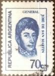 Sellos de America - Argentina -  Intercambio 0,20 usd 70 centavos 1970