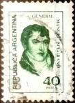 Sellos de America - Argentina -  Intercambio 0,20 usd 40 pesos 1976