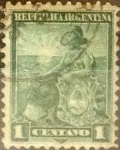 Sellos del Mundo : America : Argentina : Intercambio 0,30 usd 1 centavo 1899