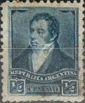 Stamps Argentina -  Intercambio 0,20 usd 1/2 centavo 1892