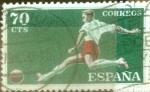 Stamps : Europe : Spain :  Intercambio 0,20 usd 70 céntimos 1960