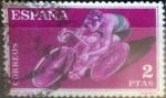Stamps : Europe : Spain :  Intercambio js 0,20 usd 2 pesetas 1960