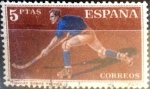 Sellos del Mundo : Europa : España : Intercambio js 0,35 usd 5 pesetas 1960