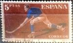 Stamps : Europe : Spain :  Intercambio js 0,35 usd 5 pesetas 1960