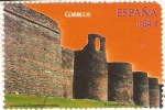 Stamps Spain -  MURALLA   DE   LUCA