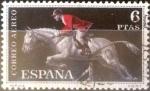 Stamps : Europe : Spain :  Intercambio js 0,55 usd 6 pesetas 1960