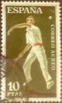 Stamps : Europe : Spain :  Intercambio js 0,55 usd 10 pesetas 1960