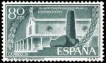 Stamps Spain -  ESPAÑA SEGUNDO CENTENARIO NUEV Nº 1199 ** 80C VERDE OSCURO
