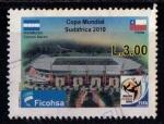 Sellos de America - Honduras -  Copa del mundo de Fútbol Sudafrica