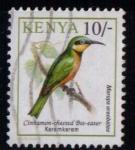 Sellos de Africa - Kenya -  Aves. Keremkerem