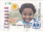 Sellos de America - Ecuador -  SOS aldeas de niños