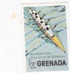 Sellos de America - Granada -  Juegos Panamericanos México