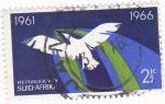 Stamps South Africa -  Paloma de la Paz