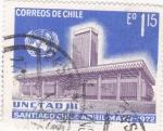 Stamps Chile -  Santiago de Chile -UNCTAD III