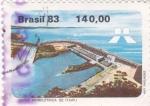 Stamps Brazil -  Usina hidroeléctrica de Itaipu