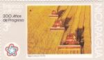 Sellos de America - Nicaragua -  Agricultura -200 años de progreso