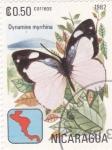 Sellos de America - Nicaragua -  Mariposa