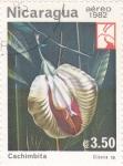 Stamps Nicaragua -  Cachimbita - Flora