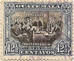 Stamps America - Guatemala -  Próceres independencia