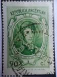 Stamps Argentina -  General José de San Martín