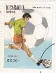 Sellos de America - Nicaragua -  Copa Mundial de Futbol España
