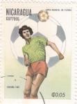 Stamps Nicaragua -  Copa Mundial de Futbol España