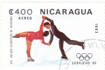 Stamps Nicaragua -  Sarajevo-84