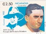 Sellos de America - Nicaragua -  Cornelio Silva - XXVI Aniversario del principio del fin de la Dictadura