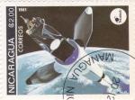 Stamps Nicaragua -  Aeronáutica- comunicaciones