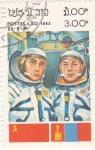 Stamps Laos -  Astronautas -Aeronáutica