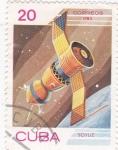 Sellos de America - Cuba -  Soyuz -Aeronáutica