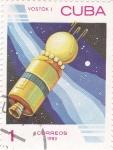 Sellos de America - Cuba -  Vostok -Aeronáutica