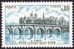 Stamps France -  FRANCIA - Paris orillas del Sena