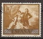 Sellos de Europa - España -  ESPAÑA SEGUNDO CENTENARIO USD Nº 1210 (0) 15C OCRE GOYA