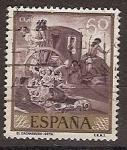 Stamps Spain -  ESPAÑA SEGUNDO CENTENARIO USD Nº 1213 (0) 60C VIOLETA GRISACEO
