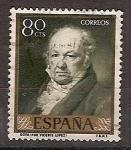 Sellos de Europa - España -  ESPAÑA SEGUNDO CENTENARIO USD Nº 1224 (0) 15C CASTAÑO Y AMARILLO