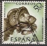 Sellos de Europa - España -  ESPAÑA SEGUNDO CENTENARIO USD Nº 1225 (0) 50C CASTAÑO GRISACEO