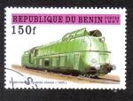 Sellos del Mundo : Africa : Benin : Experimental high speed, 1935, 97