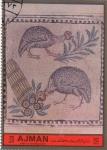 Stamps United Arab Emirates -  Roma. Museum Termes