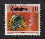Stamps Zimbabwe -  Mbira