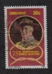 Sellos del Mundo : Africa : Zimbabwe : Lord Baden-Powell