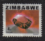 Sellos del Mundo : Africa : Zimbabwe : Granate