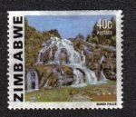 sello : Africa : Zimbabwe : Cataratas Bundi