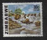 Sellos del Mundo : Africa : Zimbabwe : Cataratas Inyangombi