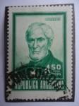 Sellos de America - Argentina -  Almiránte: Guillermo Brown -(1777-1857 Irlándes)